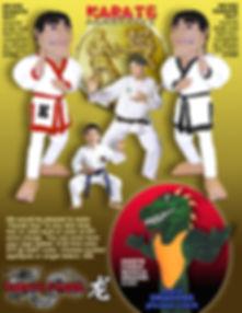 Facemakers Karate School Mascot Costumes