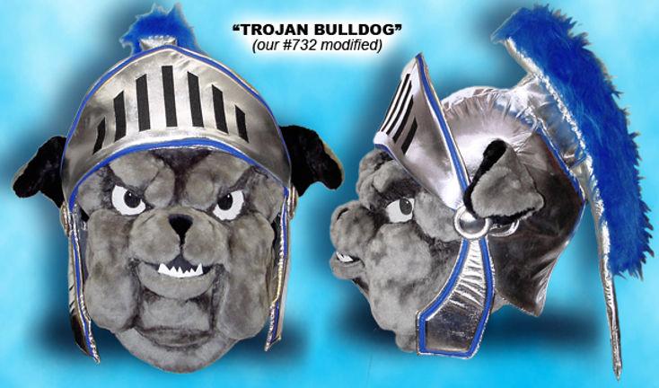 Facemakers Trojan Mascot Costumes