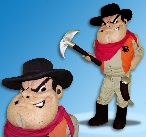 Facemakers Prospector Mascot Costumes