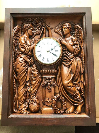 Russell Allen, UK Titanic collector-clock-by Al