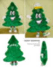 Facemakers Tree Mascot Costumes