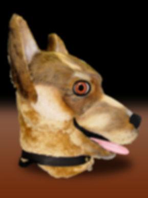 Facemakers German Shepherd Mascot Costumes