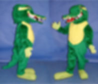 Facemakers Gator Mascot Costume