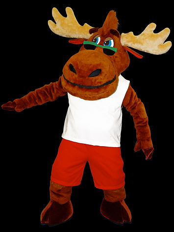 Facemakers Moose Mascot Costumes
