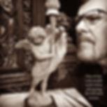 Sculpting the small maquette for the RMS Titanic cherub