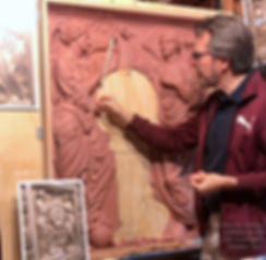 Recreating lost art. Sculptor Alan St. George makes Titanic's Honour and Glory