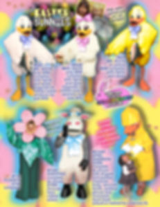 Facemakers Easter & Bunny mascot costumes