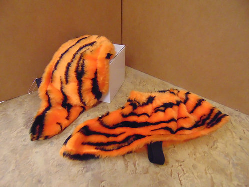 Bright Orange Tiger Spats