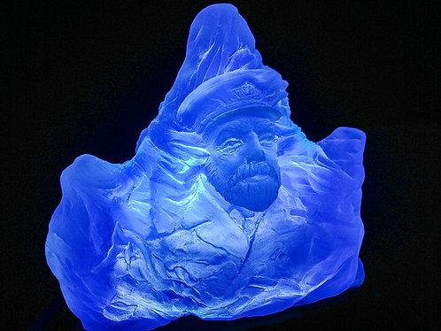 Nightlight blue iceberg
