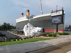 See TitanicClock.com replicas at Titanic Branson's gift shop!