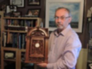 Richard Lacombe, Quebec, Canada, Titanic collector.