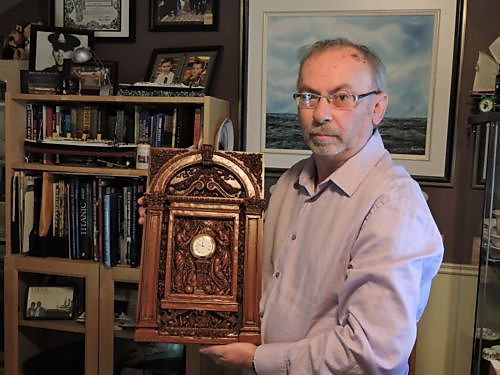 Richard Lacombe, Quebec, Canada, Titanic collector.