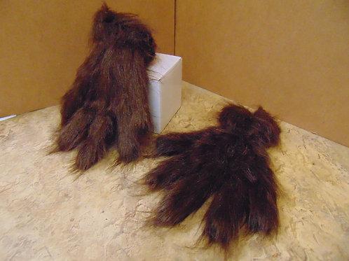 H-43 Brown Shag Gloves