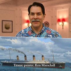 Ken Marschall, Titanic painter, researcher, and consultant