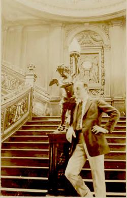Titanic Grand Staircase Cherub/clock