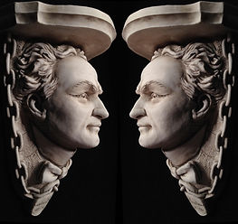 Houdini collectible busts by Alan St George