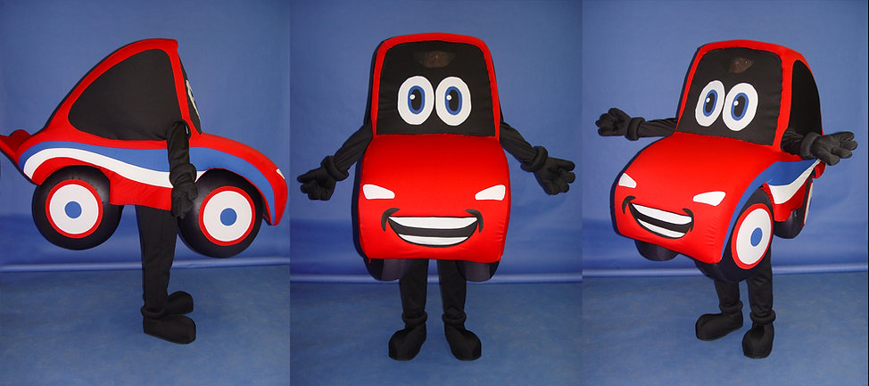 Facemakers Car Mascot Costumes