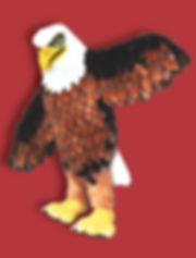 Facemakers supreme eagle mascot costumes