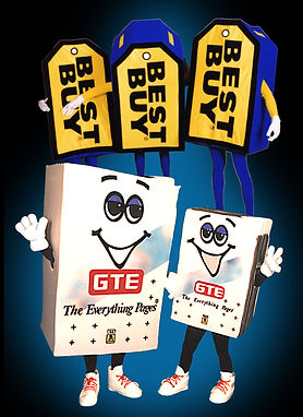 corporate best buy mascot costumes