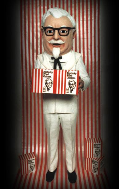 Facemakers KFC Mascot Costumes