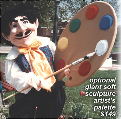 Facemakers Mascot Costume Props 6