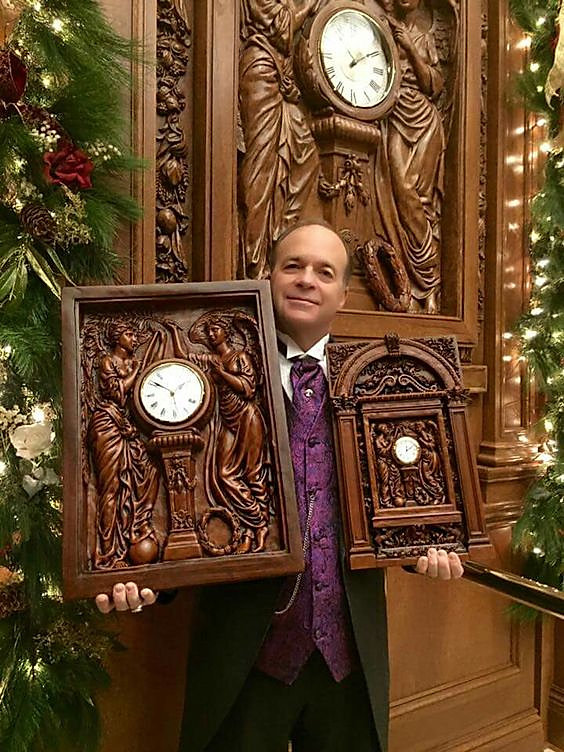 Titanic Clock replicas available for purchase at Titanic Attraction, Pigeon Forge, TN
