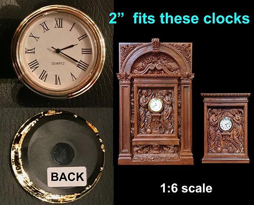"2"" Clock Insert"