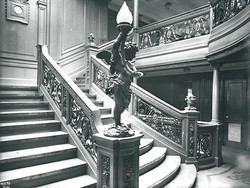 Aft First-class Staircase