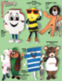 Facemakers Banking Mascot Costumes