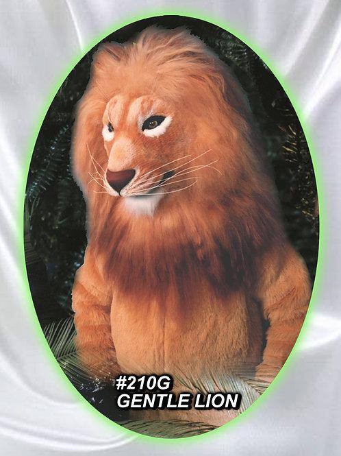 #210G GENTLE LION mascot costume