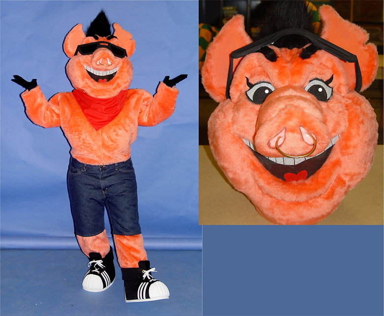 Facemakers Pig Mascot Costumes