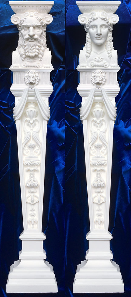 Titanic Dining Saloon Caryatids reborn for your collection.