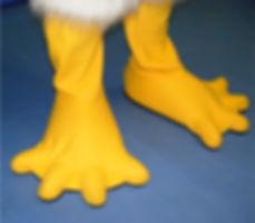 Facemakers Mascot Bird Feet