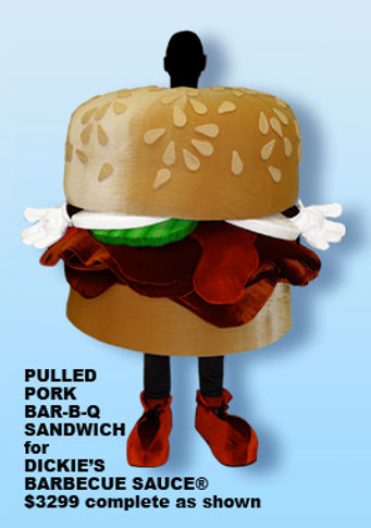 Facemakers Sandwich Mascot Costumes