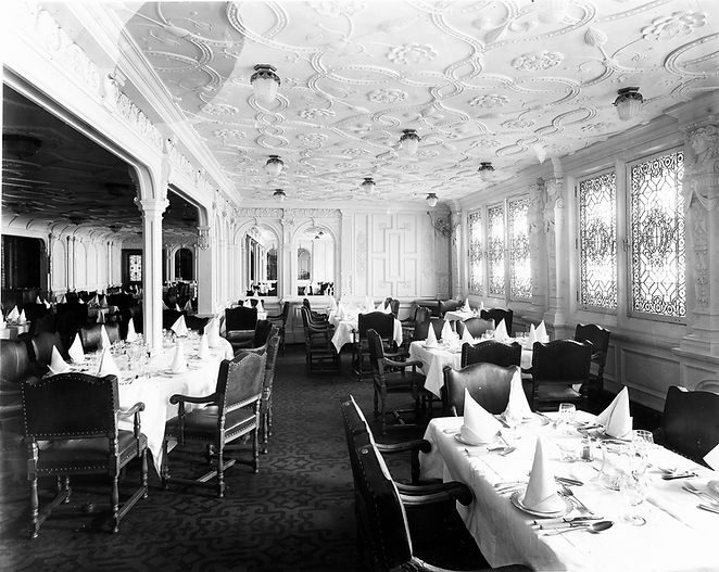 RMS Olympic First-class Dining Saloon
