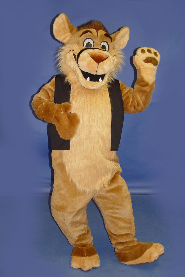Facemakers Mountain Lion Mascot Costumes
