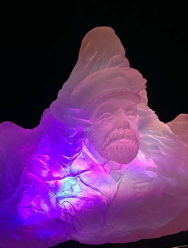 Color-changng LIGHTED  iceberg