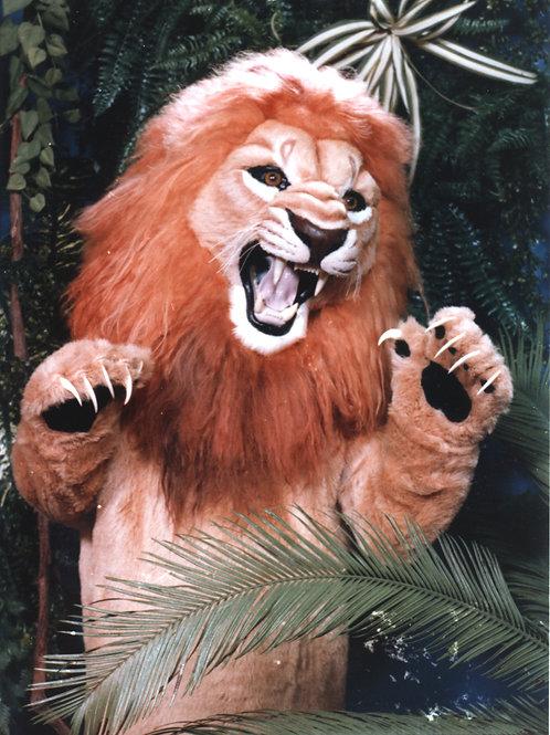 #210 FEROCIOUS LION mascot costume