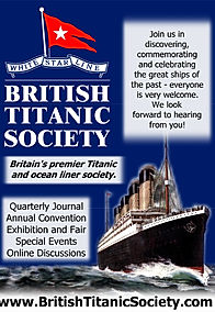 TitanicClock.com is a proud member of the British Titanic Society. Learn more about membership and join up!
