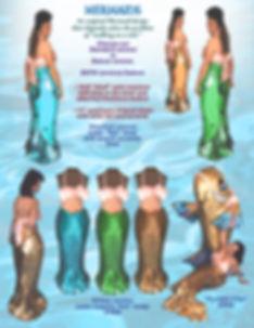 Facemakers Mermaid Mascot Costumes