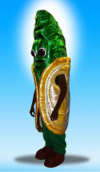 Facemakers Mollusk Mascot Costumes