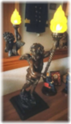 RMS Titanic Bronze Cherub replica in the collection of Heiko Hesse, GERMANY