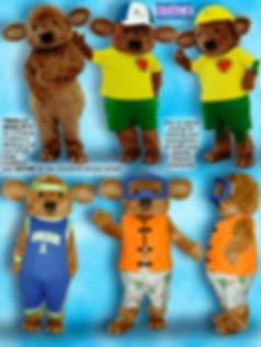 Facemakers Koala Bear Mascot Costumes