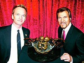 Neil Patrick Harris receives tribute bronze in honor of his children from Alan St George