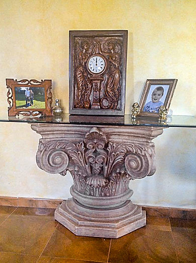Titanic collector Leon Butlin of Spain, large Honour & Glory clock.