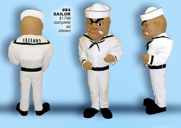 Facemakers Sailor Mascot Costumes