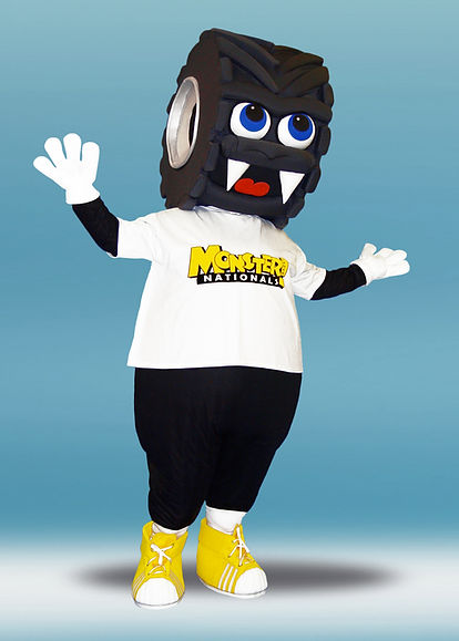 Facemakers Tire Mascot Costumes
