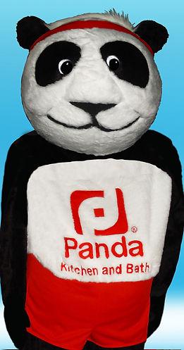 Facemakers Panda Mascot Costumes