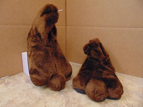 F4 Brown Semi-Shag Feet w/soles