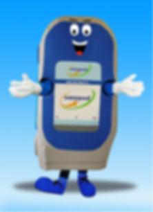 Facemakers Easypod Mascot Costumes